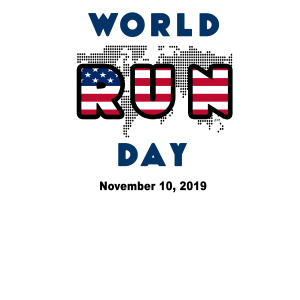 World Run Day 2019 Event T-Shirt